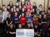 The young members of Cavan Town Comhaltas were delighted with the amount they raised for