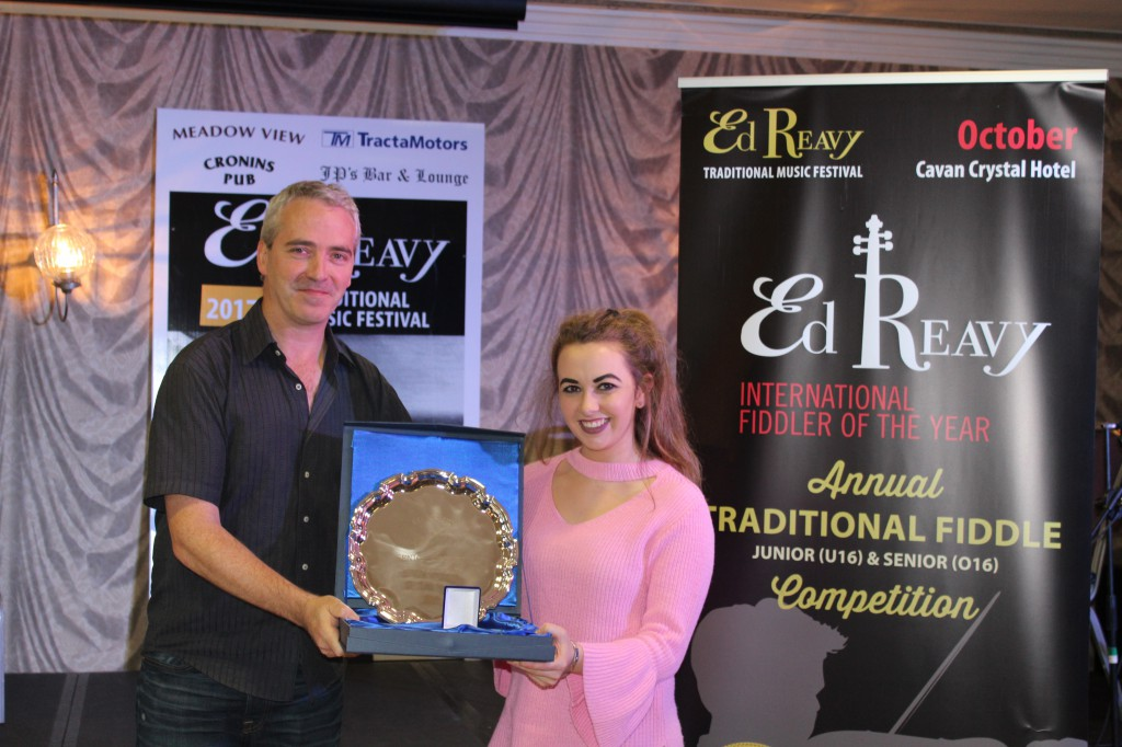 Sarah O'Gorman - 2017 Senior Ed Reavy International Fiddler of the Year